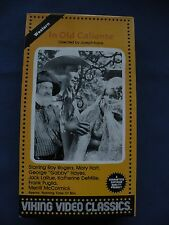 In Old Caliente Roy Rogers, Mary Hart Viking Video classics VHS movie