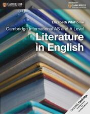NEW Cambridge International As and a Level Literature in English Coursebook by E