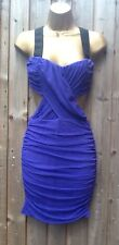 ASOS Cut out Liberty Purple Dress Size 16