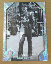 2012 PRESS PASS TOTAL MEMORABILIA B/W BRIAN VICKERS 62/99 NASCAR SPRINT RED BULL