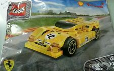 "Willie :NEW Lego Shell  ""Shell Yellow ferrari"""