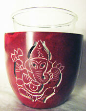 Red Ganesh Ganesha Essential Oil Burner Diffuser Aroma Lamp India Aromatherapy