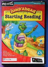 Jump ahead à partir de lecture pc cd-rom fun apprentissage ages 4-5 brand new & sealed!