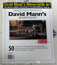 DAVID MANN COLLECTION 50 Masterpieces MOTORCYCLE ART From EASYRIDERS No 2 ARTIST