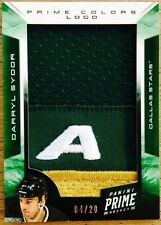 2012-13 PRIME DARRYL SYDOR GAME USED JUMBO JERSEY COLORS LOGO PATCH /20 STARS