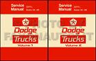 1975 1976 Dodge Pickup and Truck Repair Shop Manual D100-D800 W100-W300 Service
