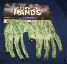 ADULT MONSTER ZOMBIE HANDS LATEX GLOVES COSTUME DRESS ACCESSORY MR156003