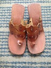 SCHUH Real Leather Tan Wedge Size 3 Bnwob
