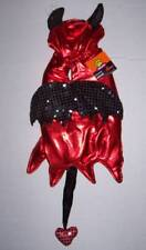 NWOT Shiny Red Devil Dog Costume Size Medium Halloween