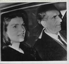 Jacqueline Kennedy Europe & Hawaii Vacation Lot of 10 1966-68 Press Photos