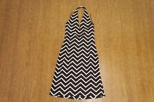 Authentic RALPH LAUREN Sleeveless Holter-Neck Dress Size:8 588h06