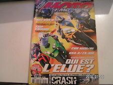 ** Moto et Motards n°95 Essais GSX-R 600 & 750 / Honda CBF 1000