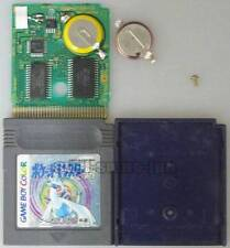 GAME BOY COLOR POCKET MONSTERS SILVER GIN NEW BATTERY REPLACED SAVE OK POKEMON