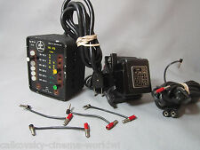 SWISS BOLEX DRIVE MOTOR REGULATOR, CABLES POWER SWITCH FOR 16MM MOVIE CAMERA