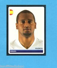 PANINI-CHAMPIONS 2006/2007-Figurina n.24- MIGUEL -VALENCIA-NEW BLACK BACK