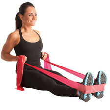 THERA-BAND 5FT INDIVIDUAL LATEX BAND (MEDIUM / RED) FLAT EXERCISE THERABANDS