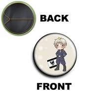 PINS PIN SPILLA 2,5 CM AXIS POWERS HETALIA Prussia