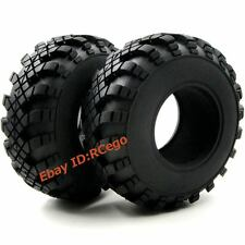 "2PCS 130mm RC Tires Tyres Fit for 2.2"" beadlock Wheel Rims Crawler Truck Upgrade"