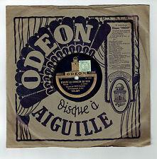 78T Fred GOUIN Disque Phono ECOUTE CHANSON SOIR - CHIQUITA Chanté ODEON 165287