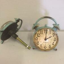 New ALARM CLOCK DOOR DRAWER KNOB HANDLE DUCK EGG BLUE Vintage Home Kitchen Decor