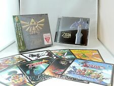 The Legend of Zelda 30th Anniversary Game Music Collection Soundtrack CD Box OST