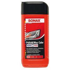 SONAX Polish & Wax Colore Nano Pro lucidatrice auto di colore rosso