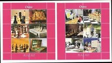 Ajedrez Chess 2011 malawi mnh 2 sheets children & chess pieces
