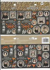 TV REALITY SHOW DUCK DYNASTY DECALS 4 PACKS 8 SHEETS NEW FREE SHIPPING