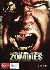 Gangsters, Guns And Zombies (DVD, 2012) Fabrizio Santino, Huggy Leaver, Vincent