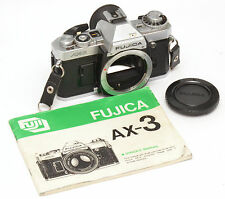 Fujica AX-3 SLR Film Camera For Fujica X Mount! Good Condition!
