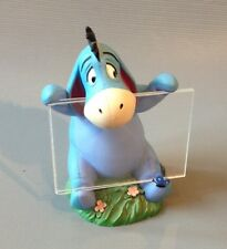 Walt Disney Winnie The Pooh Character Eeyore Ornament Statue Picture Photo Frame