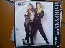 "7"" MADONNA INTO THE GROOVE OST CERCASI SUSAN DISPERATAMENTE COVER EX VINILE/EX+"