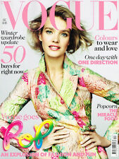 VOGUE 12/2012 Natalia Vodianova ONE DIRECTION Rita Ora CLAIRE BOUCHER / GRIMES
