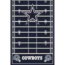 Dallas Cowboys NFL Pro Football Sports Party Decoration Plastic Tablecover