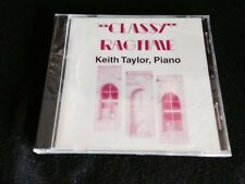 Classy Ragtime Keith Taylor Cd New Sealed Rare Haines OR Oregon Piano