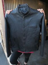 Leather Jacket Airborne Leathers 100% Leather M Size Mens