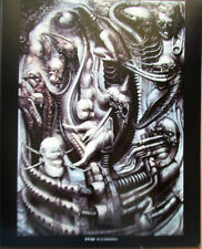 H R Giger Poster National Parc  I 1975  Offset Lithograph Unsigned 15x12