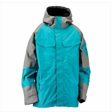 2013 NWT RIDE DELRIDGE JACKET SHELL W/ HOOD L HARBOR BLUE $300 snowboard