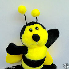 Soft, Plush HONEY BEE/HONEYBEE CRITTER With WINGS, a GREAT FACE! & Stingless Too