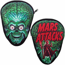 Kreepsville 666 Mars Attacks Trooper Rock Death Skull Skeleton Coffin Pouch Bag