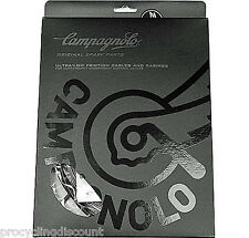 NEW 2017 CAMPAGNOLO ErgoPower ULTRA Shift Cable & Casings Set Fits 10, 11 BLACK