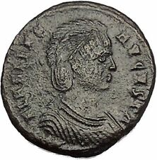 Helena ' Saint ' Constantine the Great Mother Ancient Coin Securitas Cult i52237
