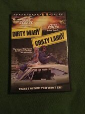 DIRTY ARY CRAZY LARRY DVD SUPERCHARGER EDITION SUSAN GEORGE PETER FONDA