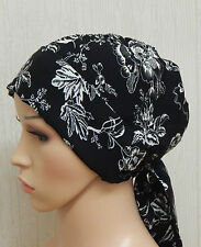 Chemo hair loss head wraps cancer bonnet cap chemotherapy head scarf head wear