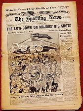 1-6-54 SPORTING NEWS BASEBALL