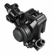 SHIMANO BR-M375 Mechanical Disc Brake Caliper with Pads, PM Type, Black, X18A