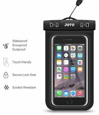 Universal Waterproof Case, JOTO Cell Phone Dry Bag for Apple iPhone 6S 6,6S New