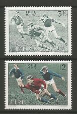 IRELAND. 1974. Centenary of Irish Rugby Set. SG: 363/64. Mint Never Hinged.