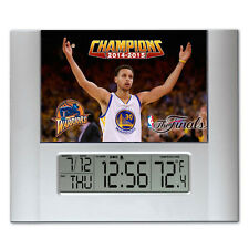 Golden State Warriors NBA Champions Stephen Curry Digital Wall Desk Clock