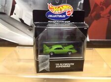 Hot Wheels Collectibles Limited Edition Green '70 Plymouth Superbird